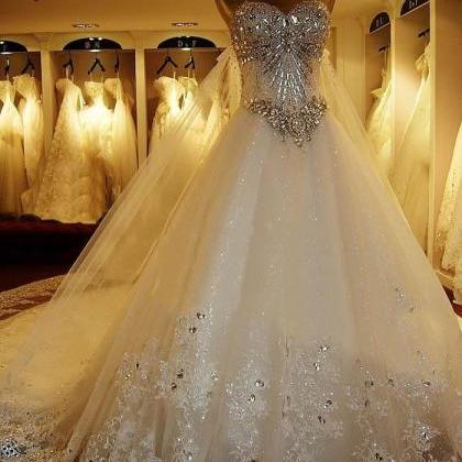 Amazing Luxury Wedding Gowns Bride ..
