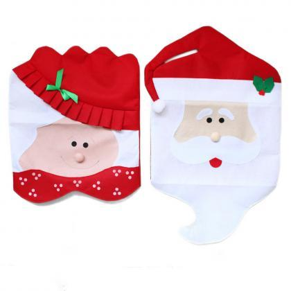 1pc / 1set Lovely Christmas Chair C..