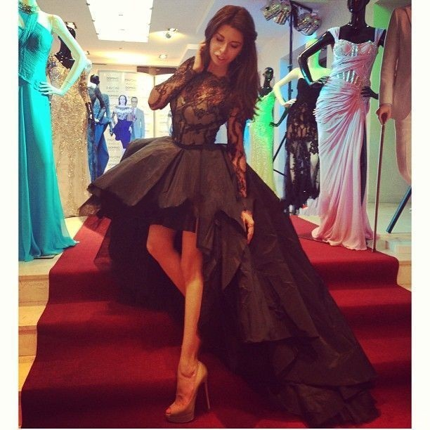 2015 Special Occasion Dresses Appealing High Low Prom Dresses 32925209d