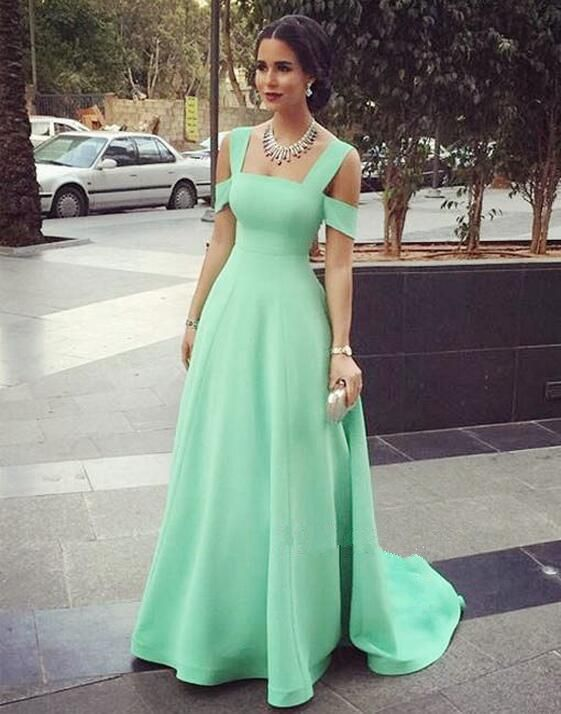 Mint Green Prom Dresses 54465b949