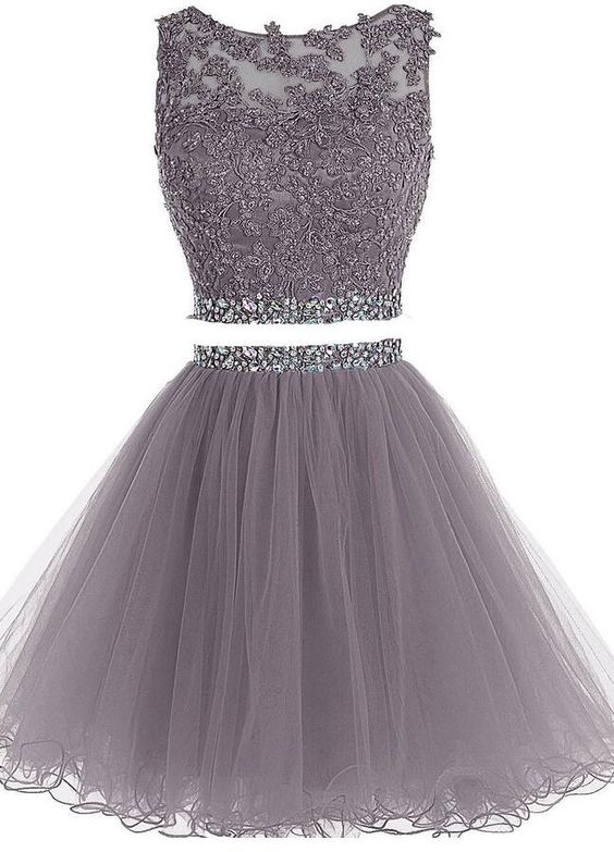 ab6e5beba57 2 Pieces Short Homecoming Dresses