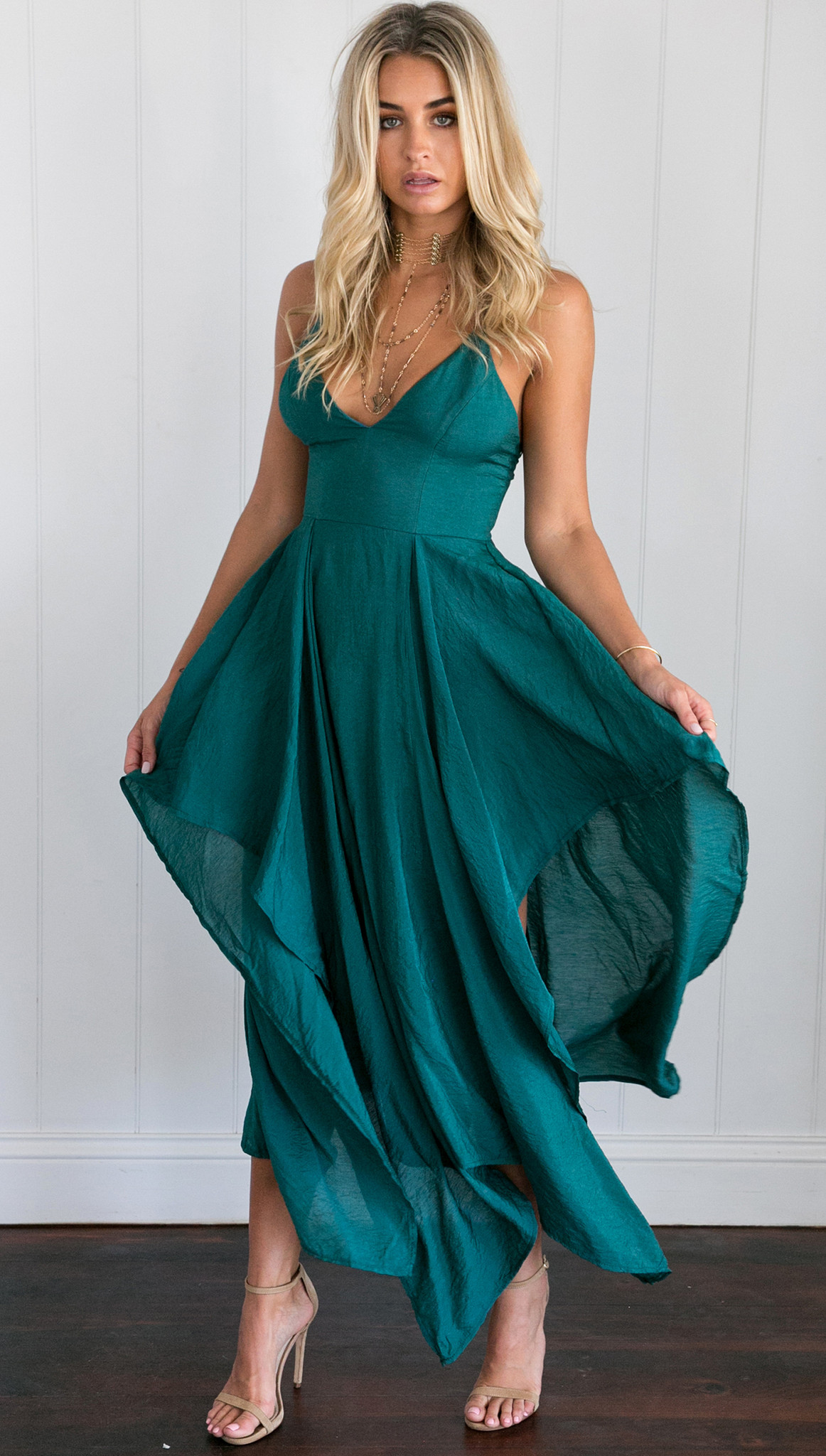Emerald Prom Dress, Sexy Woman Dress, Sexy Maxi Dress, Short Party ...