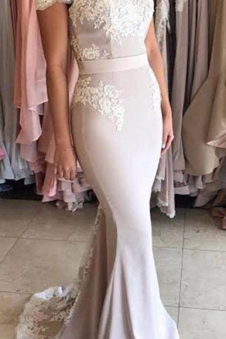 New Arrival Prom Dresses, Off the Shoulder Prom Dress, Lace Mermaid Prom Dresses, Elegant Prom Evening Dress, Long Party Gowns