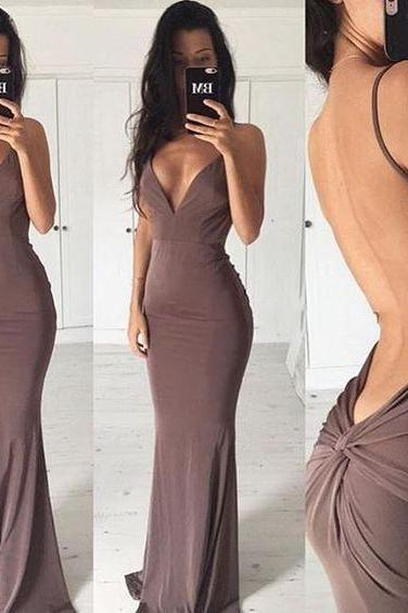 Sexy Backless Prom Dress,Long Prom Dresses,Mermaid Prom Dress,Long Prom Gowns,Party Dress,Sexy Evening Dress