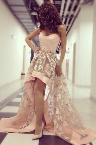 High Low Prom Gowns, New Arrival Prom Dress,Long Prom Dresses,Cheap Prom Dresses,Evening Dress, Homecoming Dresses