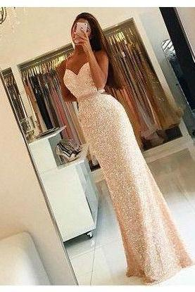New Arrival Prom Dress,Prom Dress,Sequin Prom Dress, Long Woman Dresses, Sexy Prom Dress, Long Party Dress
