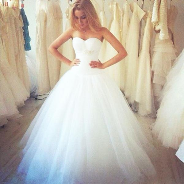2016 New Arrival A-Line Wedding Dresses,Floor-Length Wedding Dresses,Wedding Dresses, Dresses For Wedding