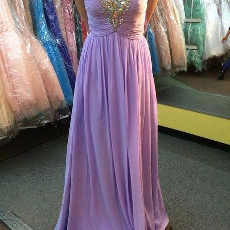 Prom dresses, Long Prom dresses, Sweetheart Prom Dress, Prom Gowns, Formal Prom Dress, Chiffon Sequins Beaded Evening Dresses, Formal Dresses