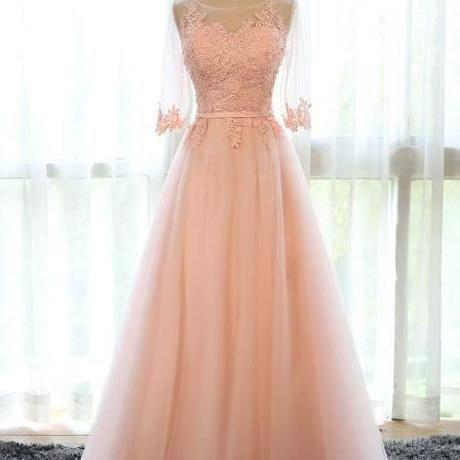 Real Picture,Prom Dresses,Long Prom Dress,Bridesmaid Dresses,Tulle Scalloped Evening Dresses,Women Dresses,Wedding Dress,Party Dress 2016,Vestidos De Fiesta